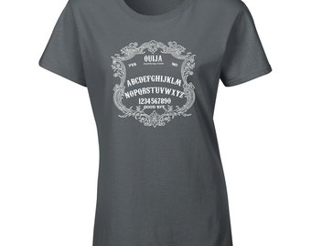 Gothic Style Ouija Board T shirt
