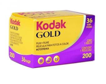 3 Rolls Kodak GOLD 200 35mm 36exp Color Print 135 Film (Exp. 2018.11)