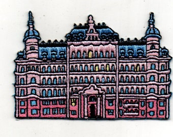 Pre-Order for the Limited Edition Wes Anderson inspired Grand Budapest Hotel Patch