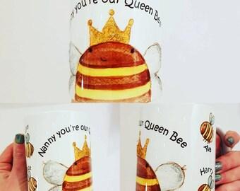 Mothers day queen bee mug