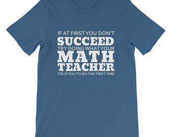 Funny Math Teacher Tee Shirt, Best Math Teacher Ever Shirt, Gift for Math Teacher, Birthday Gift, Math Class, Algebra Teacher, Calculus Tee