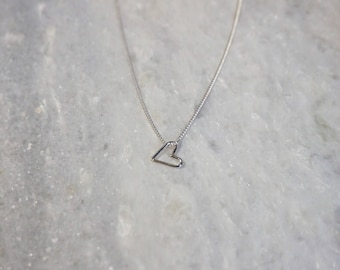 MINI-ketting - sterling silver - door STICKTAILS