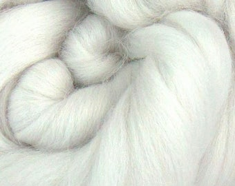PEARL Merino Wool Roving 1/4oz, 1/2oz or 1oz