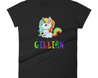 Gillian Unicorn Ladies T-Shirt