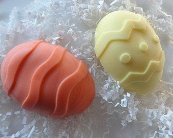 3 Easter Egg Soap Bars, Easter Gift Soap, Guest Soap Bars