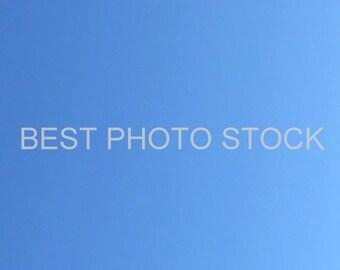 Gradient Sky Blue Background Photo Stock | Digital Image | Business Promotion