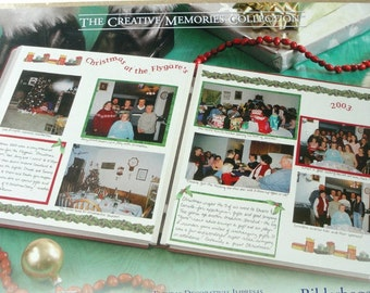 """Creative Memories, Scrapbooking, Christmas Holiday, Photo Mounting Paper, """"Done With One Holiday"""""""