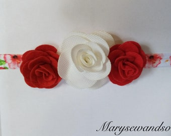 Girl's flower headband