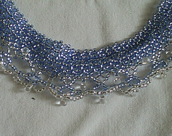 Light Blue and Tear Drops
