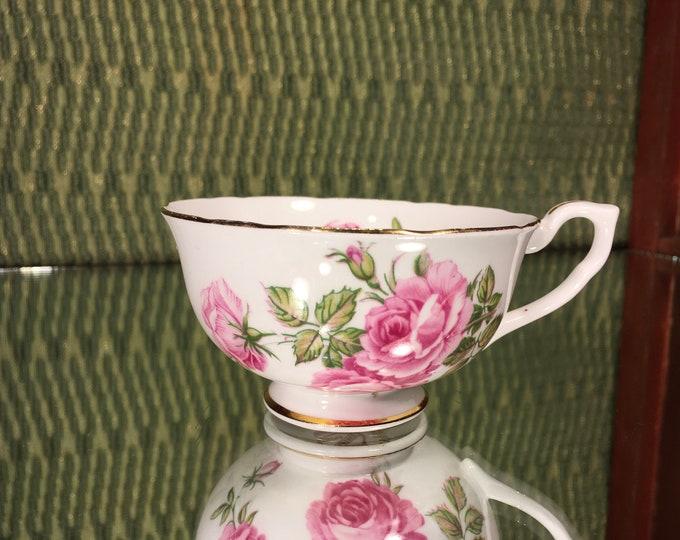 Vintage Clarence Tea Cup, bone china, England