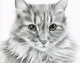 Custom Pencil Drawing, size 4 x 4 OR 5 x 5, Custom Pet Portrait, Custom Pet Drawing, Dog Art, Dog Portrait, Dog Pencil Drawing, Graphite