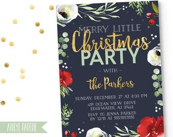 Christmas Party Invitation,Christmas Party Invite,Holiday Party Invites,Christmas Party Printable,Festive Christmas Party Invitation,Holiday