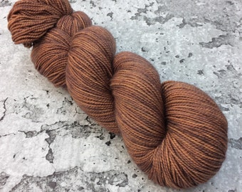 CINNAMON TOAST - 80/20 Merino Sock Hand-dyed Yarn