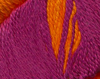 KFI Luxury 100% Silk Hand Dyed Sport Weight Yarn