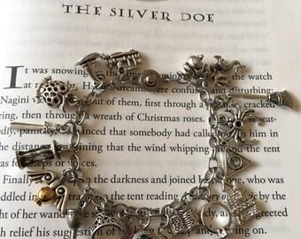 Harry Potter Inspired Charm Bracelet