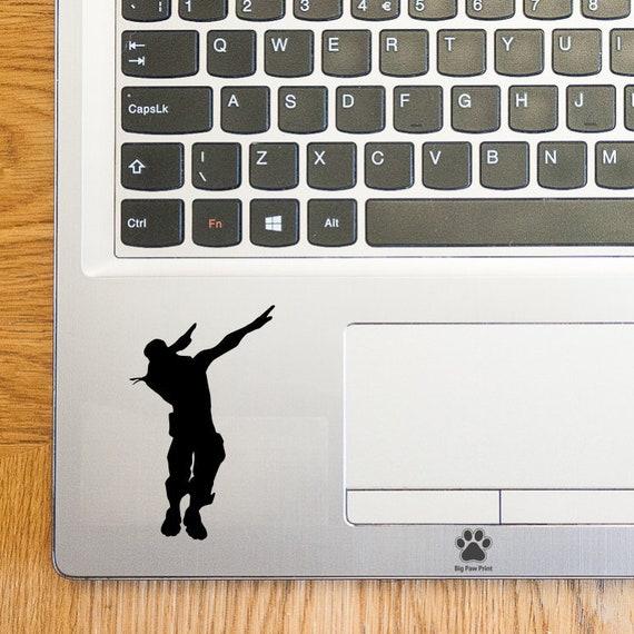 Fortnite Dab Emote Laptop Sticker Laptop Decal Trackpad Decal Trackpad Sticker Tablet Sticker Vinyl Sticker Car Sticker