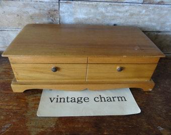 Vintage Wooden Box Decorative