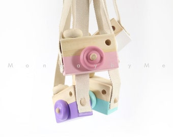 My very First Camera Wooden Toy Camera for the little ones
