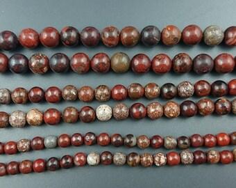 natural rainbow river jasper stone beads round jasper gemstone beads for jewelry making 6mm 8mm 10mm strand
