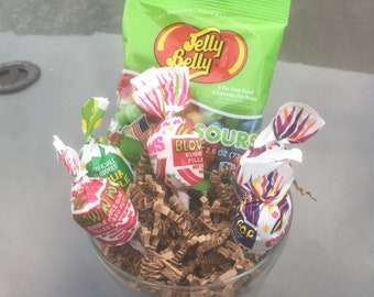 Small sized candy arrangements