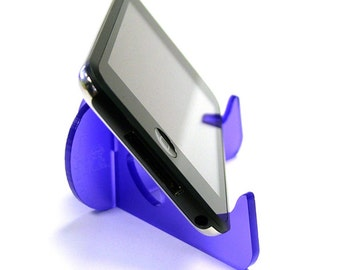 Phone stand acrylic mobile docking station iphone stand portable phone stand laser cut unique gifts stocking stuffers phone gadget