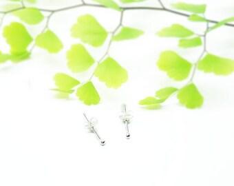 Stud Earrings - Silver Stud Earrings - Small Stud Earrings - Tiny Stud Earrings - Very Small Stud Earrings - Sterling Silver Stud Earrings