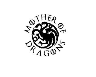 Game of Thrones Mother of Dragons Daenerys Targaryen Decal