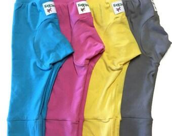 Cloth diaper pants - baby pants - monster bunz - grow with me pants - maxaloones - baby girl - baby boy