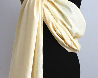 Baby Sling Carrier Pure Linen Baby Sling Baby Carrier Wrap Conversion Baby Ring Sling Linen Baby Sling Wrap Carrier Newborn to Toddler