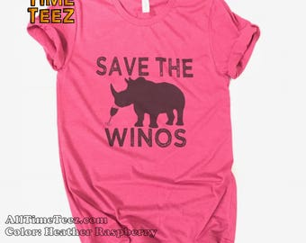 SAVE The WINOS T Shirt. Cute Wine Shirt  Bachelorette shirt. Friday Wineday shirt  Wine Tshirt  Graphic Tee. Wine Shirt. Ships from USA