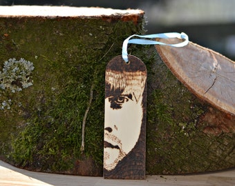 Bookmark Ron Weasley harry Potter Pyrography Burn painting
