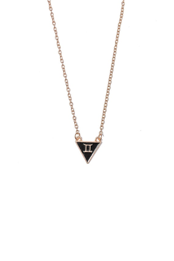 of and tone zodiac symbol heirloom pendant crystal pave is the clear an this symbols gemini image silver necklace signs