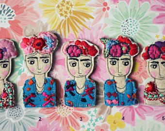 Frida (brooch)