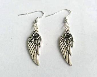 Angel Earrings - Fairy earrings - Angel Wings - Fairy Wings