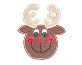 Instant Download Rein Deer Embroidery Applique Design-843