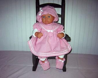 Strawberry Pink Sailor Dress
