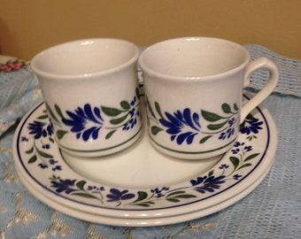 British Tea and Biscuit Set