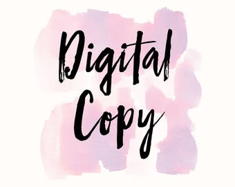 Digital Copy of Your Portrait
