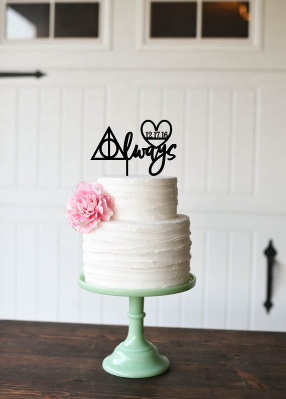 Harry Potter Wedding Cake Topper Always Cake Topper Cake