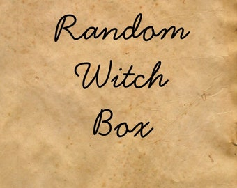 Random Witch Box (Candles, incense, crystals, and MORE!)