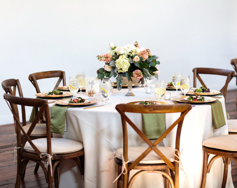 Gold Mercury Glass Wedding Decor / Gold Centrepiece / Table