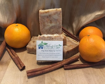 Orange Cinnamon Handmade Soap