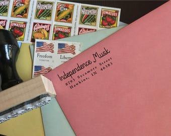 Custom Address Stamp - Type I