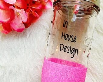 In House Design on Mason Jar Tumbler