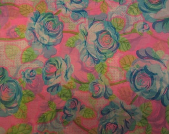 Japanese Sheer Floral Fabric