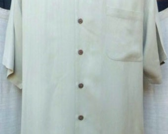 Large VINTAGE TOMMY BAHAMA All silk