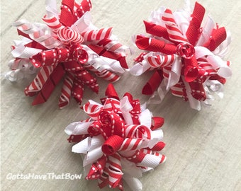 Korker Bows Red