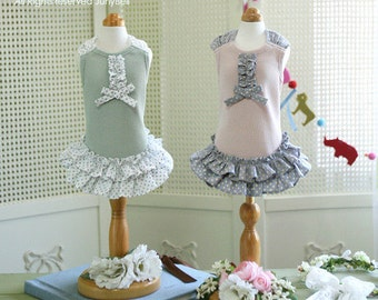 Loel- Designer Handmade Casual Dress for Pets/ Free Shipping