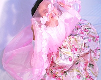 Spring Blossom Fairy Princess Skirt and Crown Set READY TO SHIP