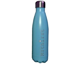 Blue Personalised Bottle